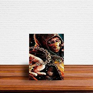 Azulejo Decorativo Scorpion