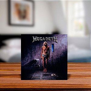 Azulejo Decorativo Megadeth Countdown To Extinction