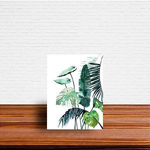 Azulejo Decorativo Folhas Aquarela 1