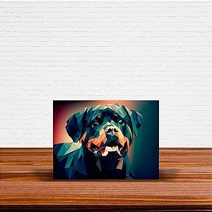 Azulejo Decorativo Geométrico Rottweiler
