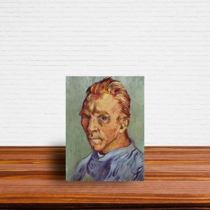 Azulejo Decorativo O Auto-retrato Sem Barba Van Gogh