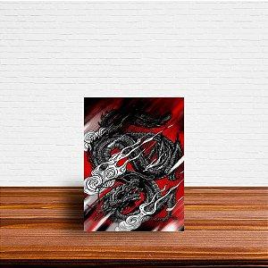 Azulejo Decorativo Dragão Chinês