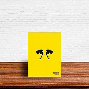Azulejo Decorativo Minimalista Rorschach