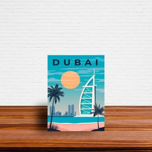 Azulejo Decorativo Dubai