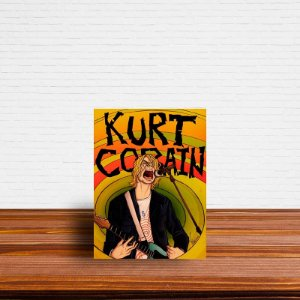 Azulejo Decorativo Kurt Cobain