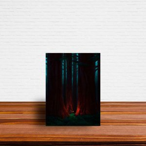 Azulejo Decorativo Floresta Escura
