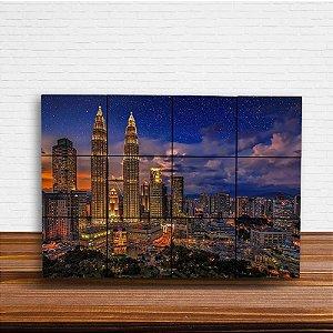 Painel Decorativo de Kuala Lumpur (Malásia)