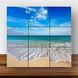 Painel Decorativo Praia e Mar