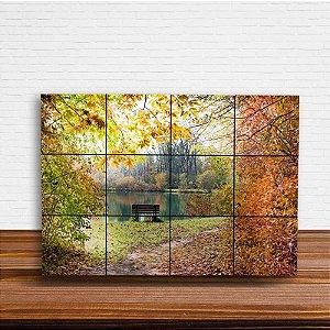 Painel Decorativo Paisagem de Outono