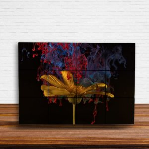 Painel Decorativo Girassol Aquarela