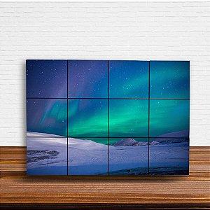 Painel Decorativo Aurora Boreal