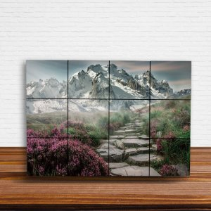 Painel Decorativo Montanha com Neve
