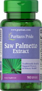 Saw Palmetto Extract Puritan's Pride 90 Softgels