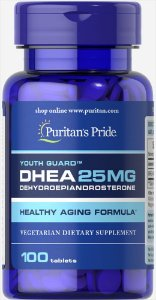 DHEA 25 mg Puritan's Pride 100 Tabletes