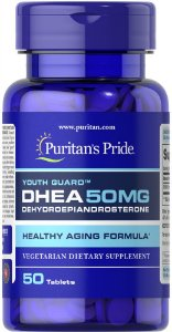 DHEA 50 mg Puritan's Pride 50 Tabletes