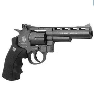 "Revolver Pressão Wingun Metal 701 4"" CO2 4,5mm"