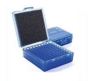 Caixa Shotgun Para 100 munições Calibre 380 / 9mm - Azul