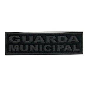 Tarjeta Emborrachada Para Frente Do Colete Guarda Municipal