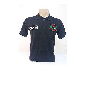 Camisa Polo Policia Civil