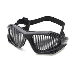 Óculos de Proteção Airsoft Preto - NTK