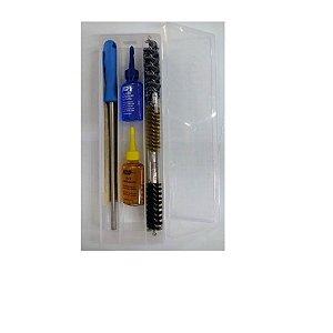 Kit para limpeza Arma longa Calibre 12