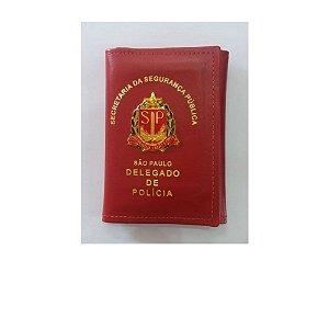 Carteira Porta Notas De Delegado De Polícia De São Paulo
