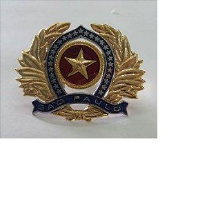 Distintivo De Boina Da Policia Militar De São Paulo