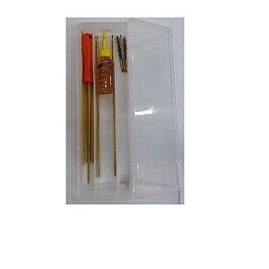 Kit De Limpeza Da Carabina De Pressão 4,5mm