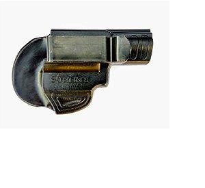 """Coldre Velado Para Revolver 5 Tiros - Destro 2"""""""