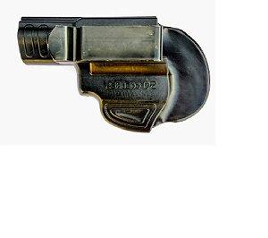 Coldre Velado Para Revolver 5 Tiros - Canhoto