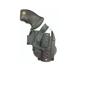 Coldre De Polímero Para Revólver Taurus 5 Tiros - Destro