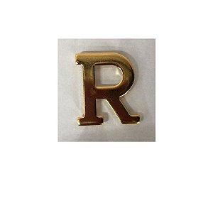 Letra R Metálica Para Braçal