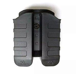 Porta Carregador Duplo Só Coldres Para .40 E 9mm