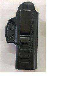 Coldre Velado Pistola Glock G17 E G22 Destro