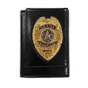 Carteira Porta Funcional Agente Vigilante