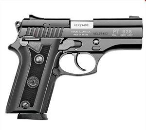Pistola Taurus PT 938 Oxidado