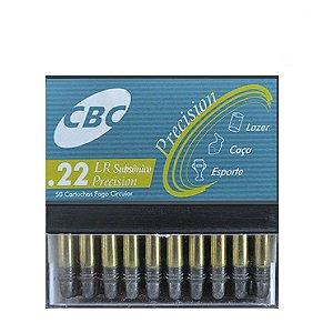 Munição CBC 22 LR Subsonico Precision CHOG 40GR