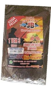 MASSA ESPECIAL JRB - GOIABA COM QUEIJO E BANANA 500GR
