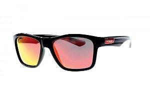 Óculos de Sol Polarizado Piranha vermelha