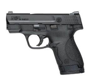 Pistola Smith& Wesson M&P40 SHIELD Cal. .40S&W Oxidada - 07 Tiros