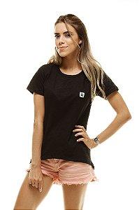 T-Shirt em Flamê Preto