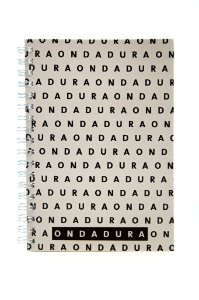 Caderno Espiral Capa Dura Cinza