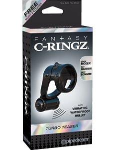 Anel Peniano vibratório Turbo Teazer Fantasy C-Ringz