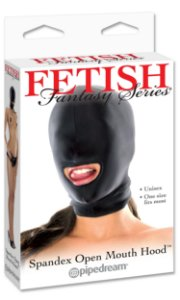 Máscara Spandex com Abertura na Boca Fetish Fantasy