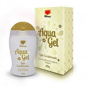 Lubrificante Aromático Leite Condensado Aquagel - 40g