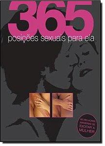 Livro 365 Posições Sexuais Para Ele/Ela - Dorling Kindersley