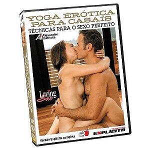 DVD - Yoga Erótica para Casais: Técnicas para o Sexo Perfeito