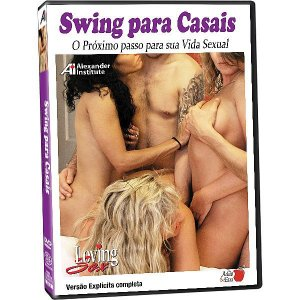 DVD - Swing para Casais: O Próximo passo para sua Vida Sexual