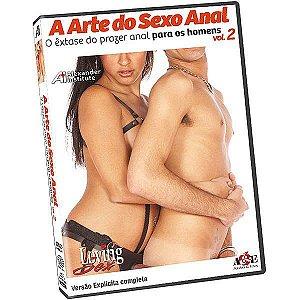 DVD - A Arte do Sexo Anal - O êxtase do prazer anal para os Homens Vol 2