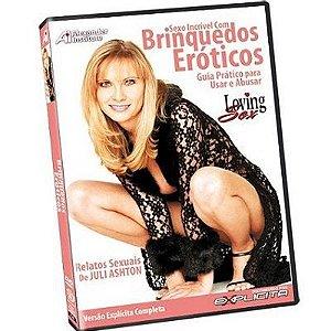 DVD - Sexo incrível com Brinquedos Eróticos: Um guia prático para usar e abusar!